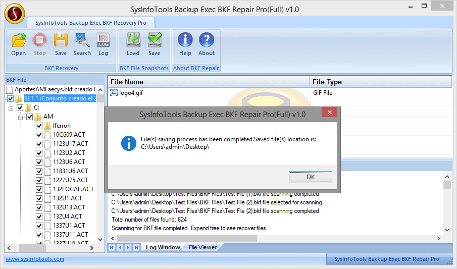 Backup Exec BKF Recovery Pro step-9