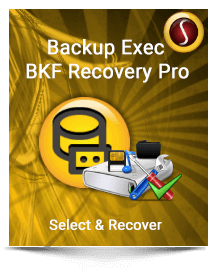 Backup Exec BKF  Recovery Pro